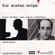 For Stefan Wolpe CD Montaigne OOP Ens Recherche Cage Carter Feldman OOP