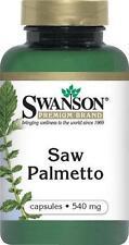 SWANSON  PREMIUM SAW PALMETTO (540 mg, 250 Capsules) - MEN'S PROSTATE SUPPORT