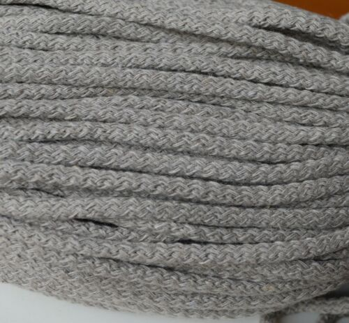 bags crocheting 100 /% cotton cord 5 mm diameter in 17 colours rugs pads