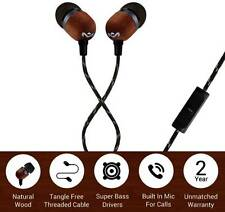 House of Marley Smile Jamaica EM-JE041-SB Wired Headset With Mic (Black)