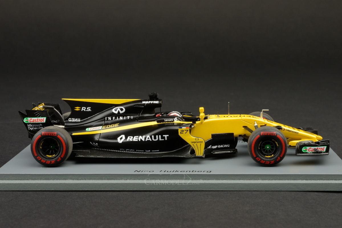 F1 Hulkenberg Renault  R.S.17 Bahrain GP 2017 1 43 Spark S5035  haute qualité générale