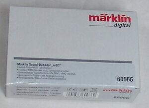 Märklin 60966 Sounddecoder Msd. # Neuf Emballage D'origine