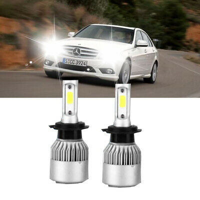 Mercedes C-Class W204 H7 H7 501 55w Clear Xenon High//Low//Side Headlight Bulbs