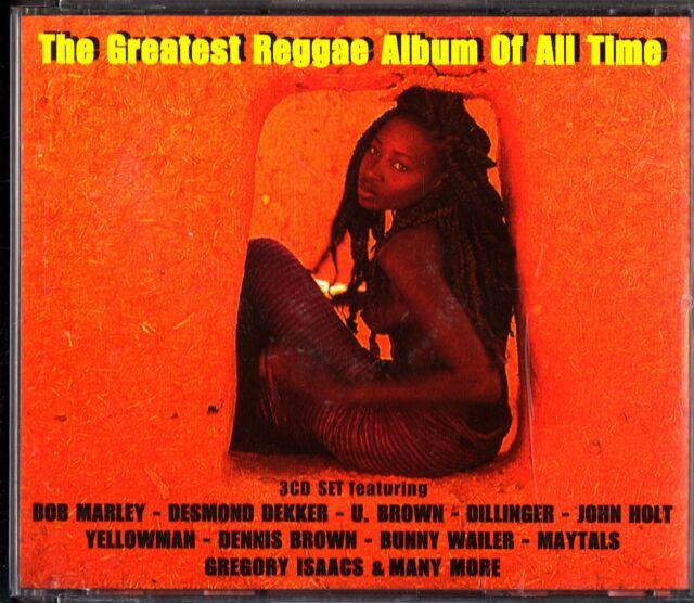 The Greatest Reggae Album Of All Time 3-CD (The Best Of/Bob Marley/John Holt)