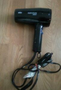 BRAUN-Super-Volume-SuperVolume-Salon-Blow-Dryer-1600W-missing-the-cap