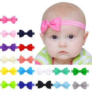 10pcs-Mini-Bowknot-Hair-Band-Baby-Kids-Girls-Elastic-Headband-Lovely-Headwear-B