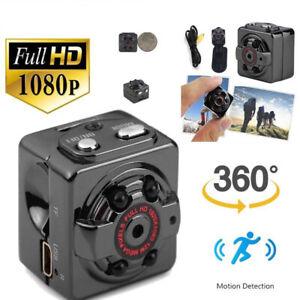 SQ8 Full HD 1080P Mini Car DV DVR Camera Hidden Camcorder IR Night Vision