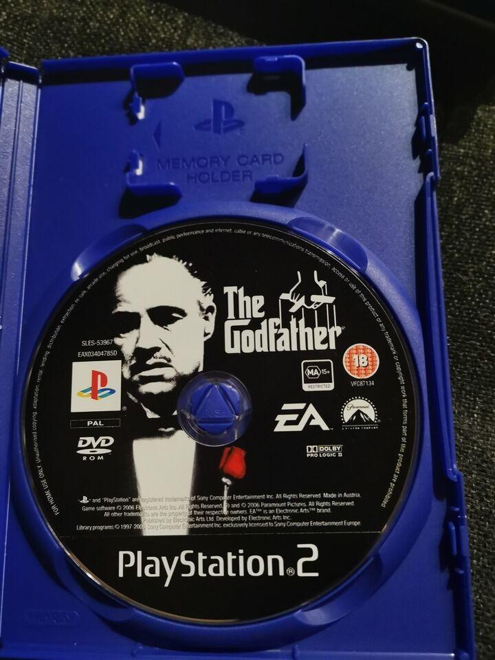 The Godfather - Dansk Version, PS2, action