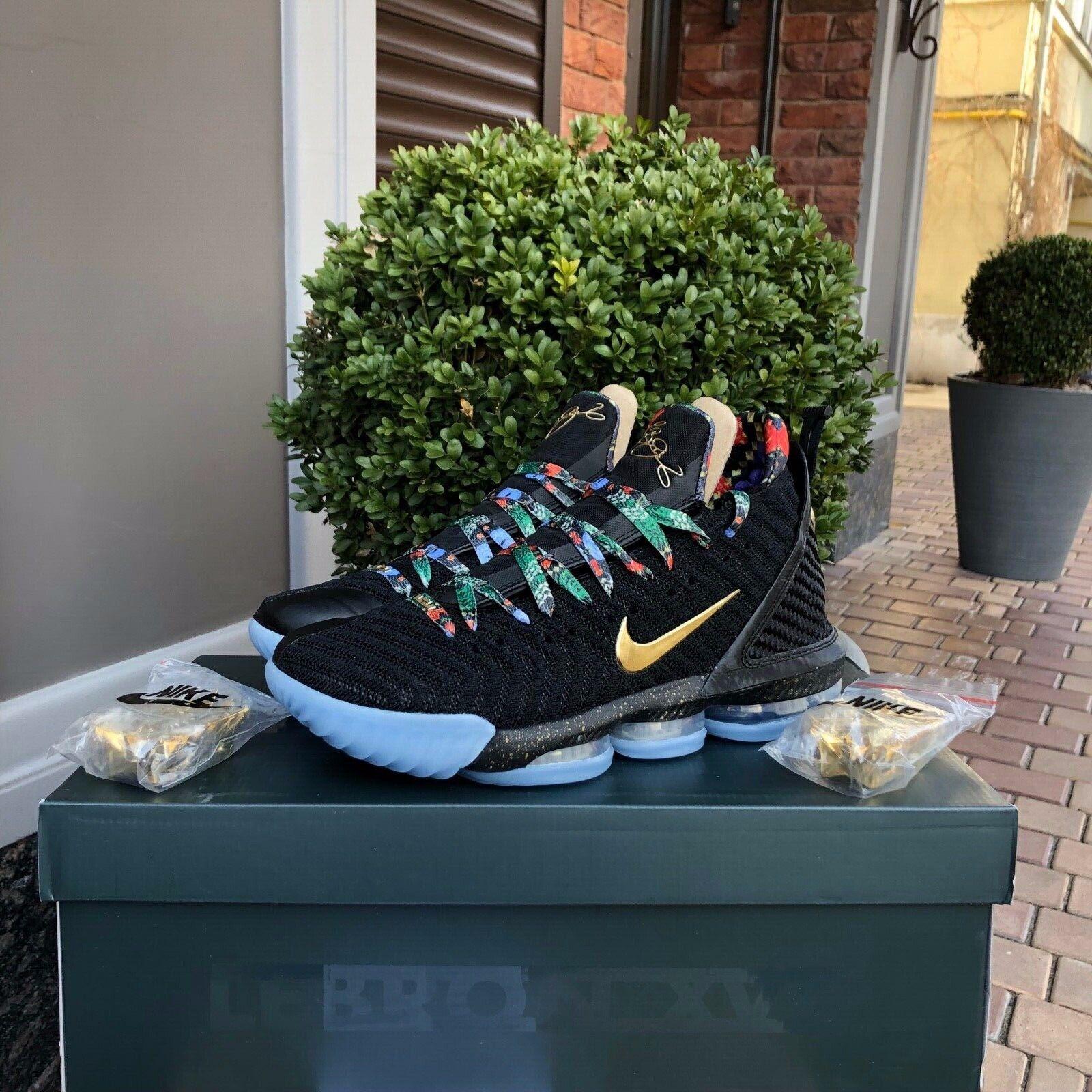 Nike Lebron XVI 16 KC  regarder THE THRONE  or Noir Rose All Star Hommes CI1518-001