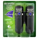 Nicorette Quickmist Mouthspray - 2 X 150 Sprays