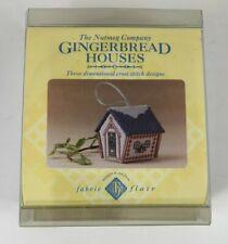 The Nutmeg Company White Christmas De-Luxe 3D Cross Stitch Card Kit