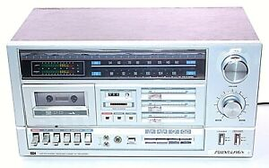 Vintage-Soundesign-5643-Cassette-Receiver-Amplifier-Bookshelf-Stereo-System