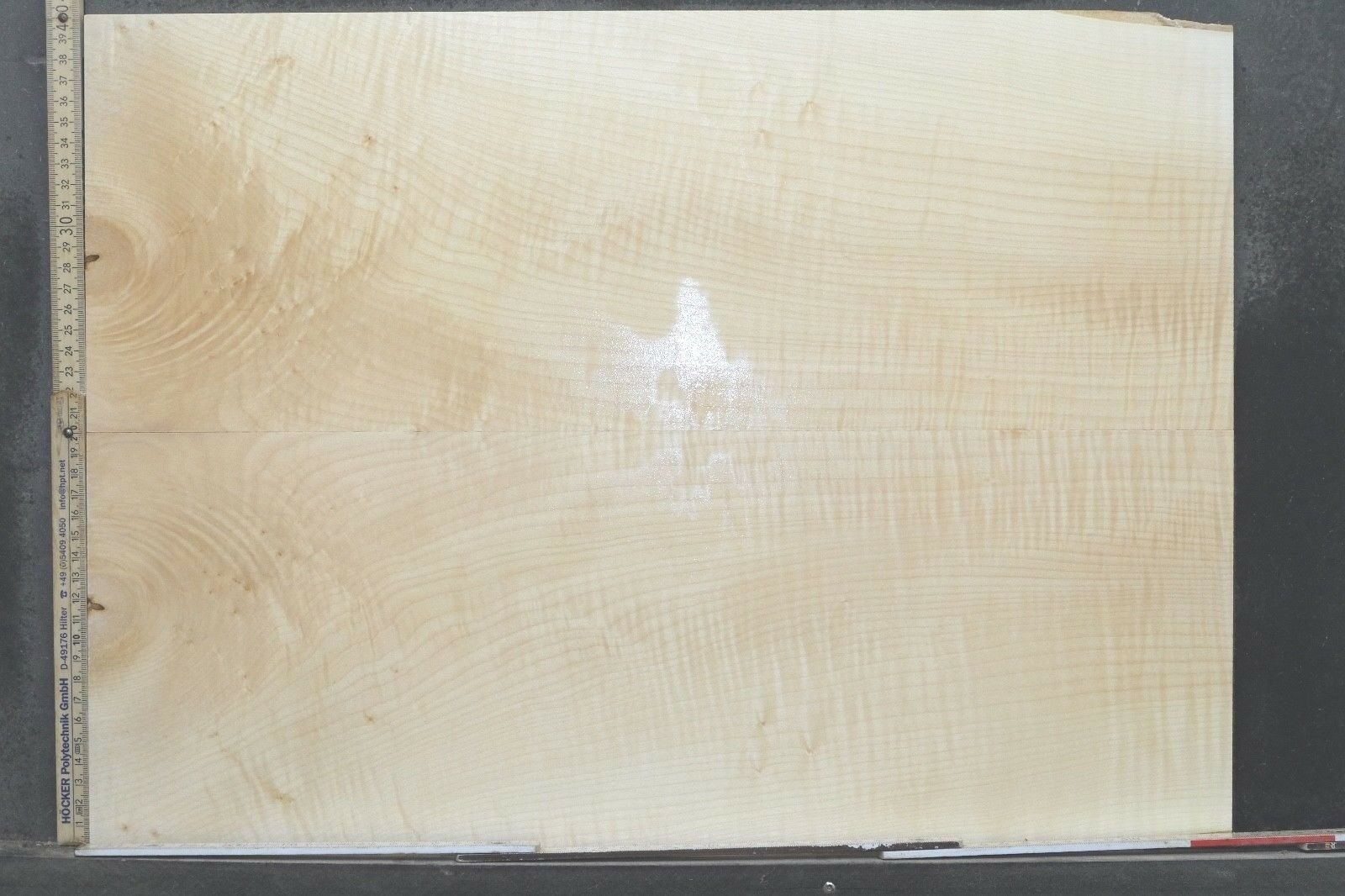 Tonewood Riegel Ahorn Flamed Maple 11,8 mm Aufleimer Guitar Tonholz Droptop 266
