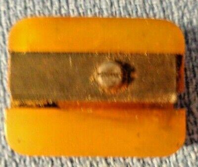 Vintage Bakelite Pencil Sharpener Butterscotch Color Ebay
