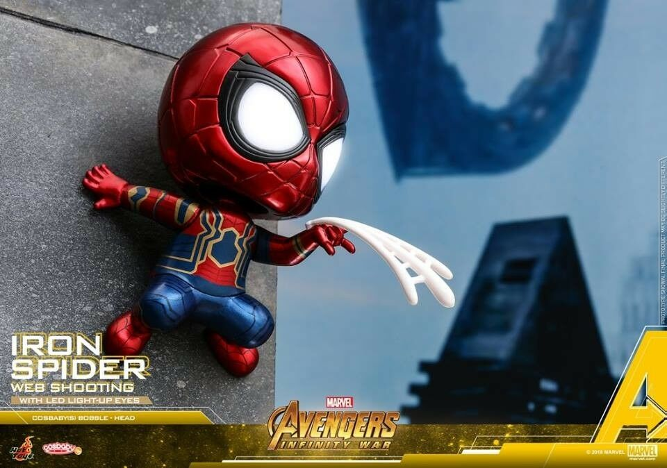 Hot Toys Infinity War iron Spider (web (web (web Shooting) Cosbaby LED EYE f9a876