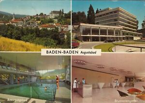 Augustabad Baden-baden Ansichtskarte Gelaufen Produkte HeißEr Verkauf