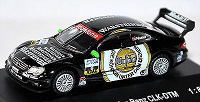 Modest Mercedes Benz Clk-dtm 2002 Warsteiner Amg-mercedes Marcel Fässler #6 1:87 Lustrous Surface Model Building Cars