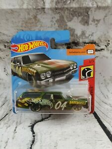 70 Chevelle Ss Wagon 1970 Verde HW Daredevils 1/5 Hot Wheels