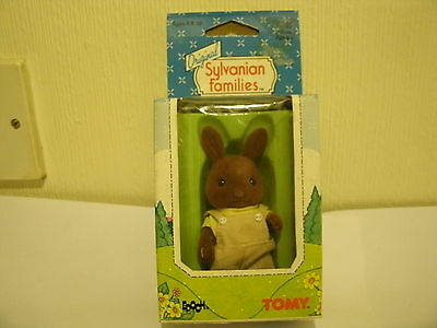 VINTAGE 1985 TOMY SYLVANIAN FAMILIES BOXED EX SHOP STOCK WILDWOOD RAY BROWN RABB