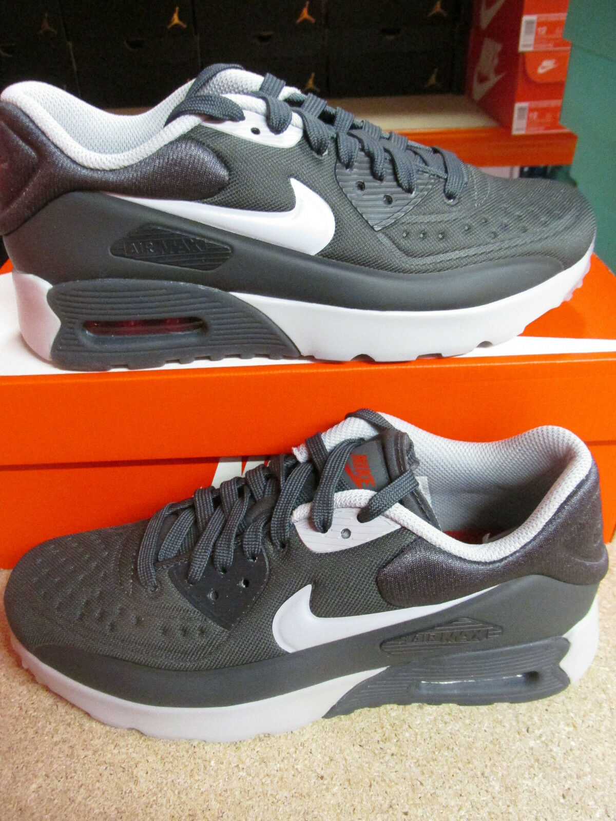 Nike Air Max 90 Ultra SE (GS) Running Trainers 844599 005 Sneakers Shoes