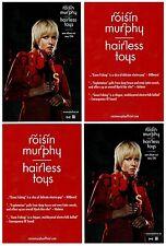 ROISIN MURPHY Hairless Toys 2015 Ltd Ed 4 Postcards Lot+FREE Indie Rock Stickers