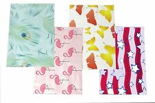 100 PCS 10x13/'/' Red Blue Pink Yellow Designer Mailers Poly Shipping Envelopes