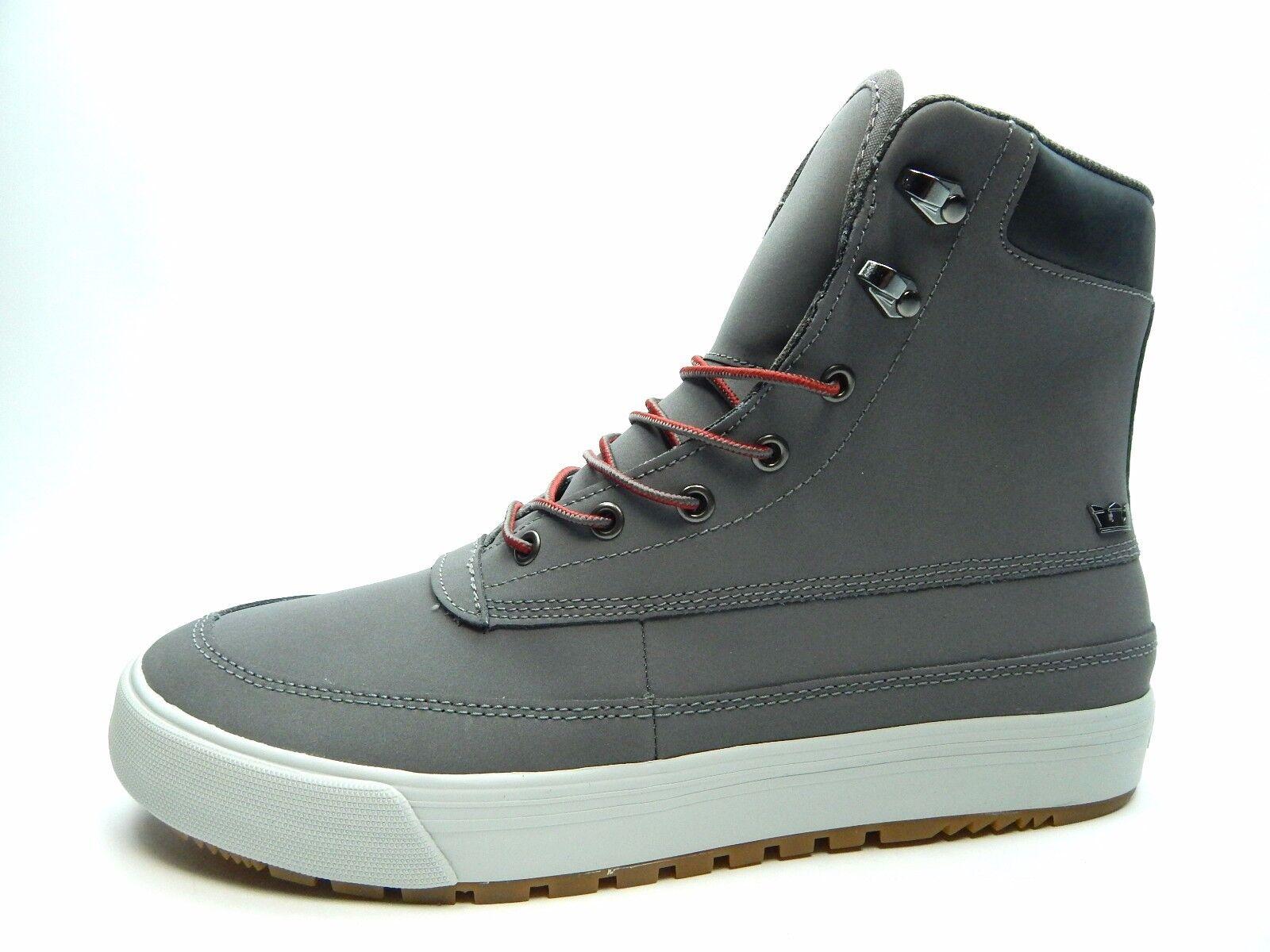 SUPRA OAKWOOD gris gris púrpuraa 08069-048 Hombres Zapatos