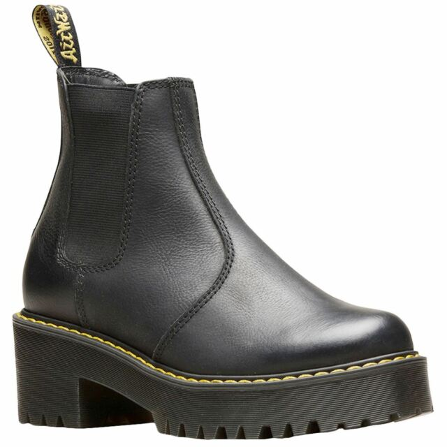 1a40f41349a Dr. Martens Rometty Black Wyoming Womens Chelsea Boot Size 9m for ...