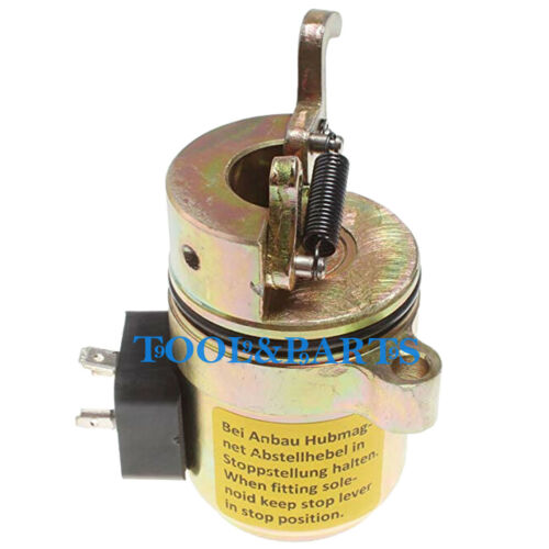 Shutoff Fuel Solenoid 6686715 for Bobcat 442 863 864 873 883 A220 A300 S250 T200