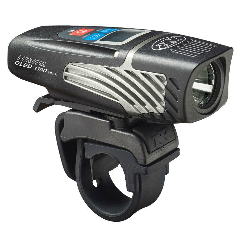 NiteRider NiteRider NiteRider Lumina 1100 OLED Boost Headlight Bike Light Lumen USB Rechargeable 32990e