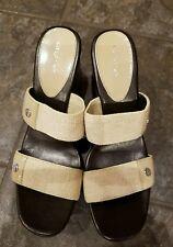 CK Calvin Klein Wedge sandals Size 9.5