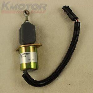 Fuel Shut Off Solenoid For Ford 5.9L 8.3L Cummins Diesel 2-1//2 bolt spacing US