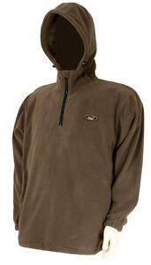 Anzüge Bekleidung TF Gear Fleece XL Kapuzenpullover Hoody Hoodie Pullover Pulli Karpfen Carp