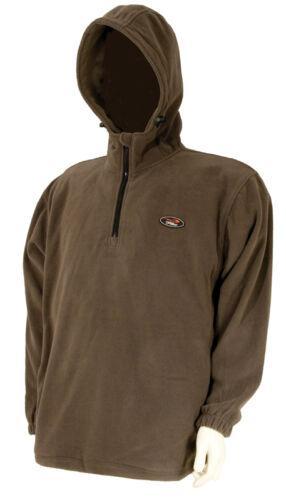 Anzüge TF Gear Fleece Größe M Kapuzenpullover Hoody Hoodie Pullover Pulli Karpfen Carp