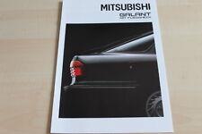 109637) Mitsubishi Galant Fließheck Prospekt 08/1989