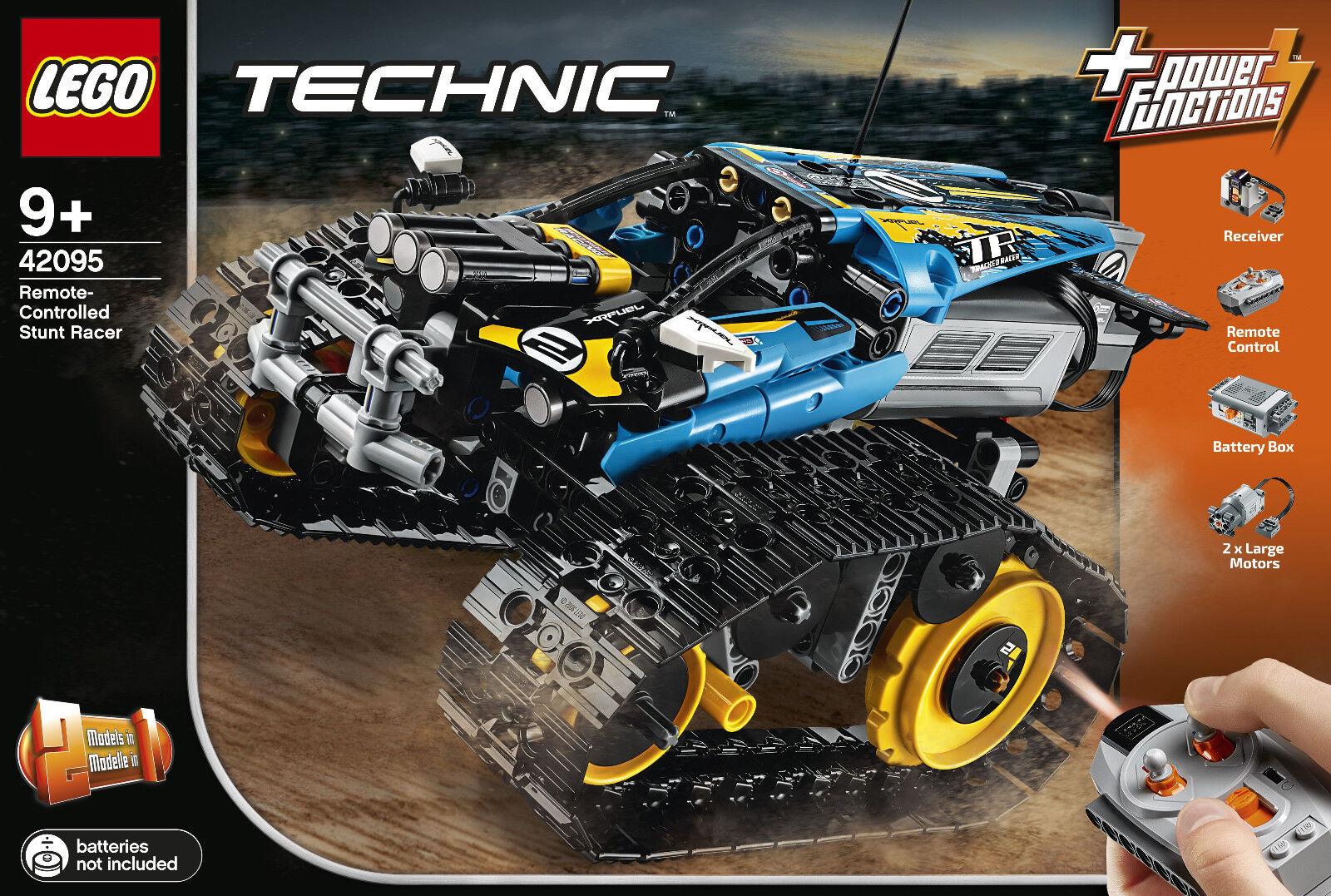 Lego Technic 42095 - Radio Controlled Stunt-Racer, Nip