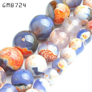 Stone-Beads-Orange-Blue-Fire-Agates-Round-Loose-Spacer-Beads-for-jewelry-making