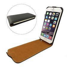 Ultra Thin Leather Wallet Flip Case Screen Protector For New Apple iPhone 6 Plus