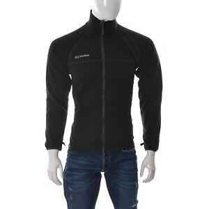 Columbia Deportiva Hombre Tech Titanio Jersey Cuello Alto Chaqueta Polar Negro S Ebay