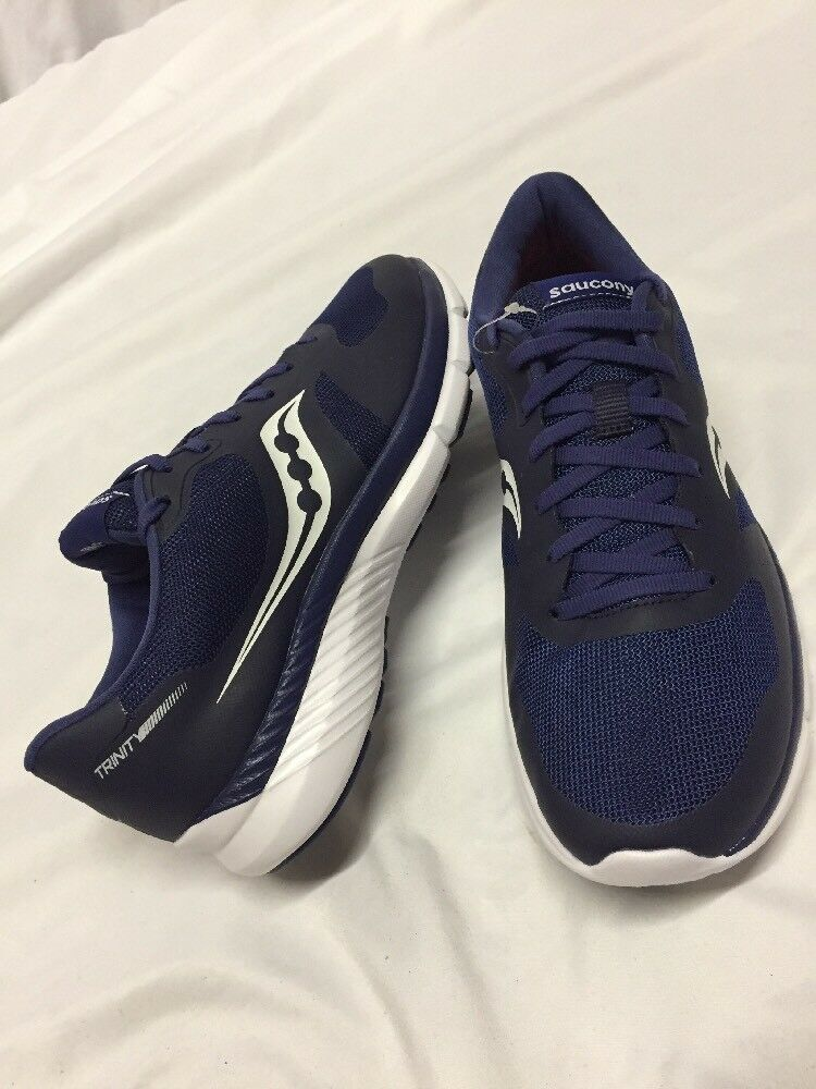 Saucony TRINITY Men's Running training shoes Navy Size 9 Eur 42.5