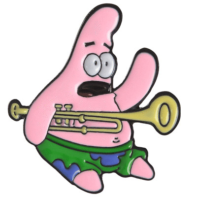 Pin Spongebob Squarepants MEME Patrick Enamel Brooch Jewelry Gift New 2019