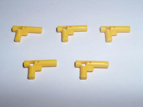 5x Lego 60849 Zapfpistole Blaster Laser gelb 4498789 4514194 4515896 6114982