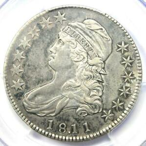 1811/10 Capped Bust Half Dollar 50C - Certified PCGS XF45 (EF45) - $1,150 Value!