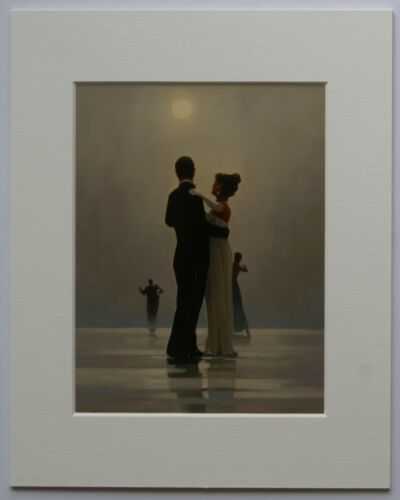 """Dance Me To The End Of Love by Jack Vettriano Mounted Art Print 10/"""" x 8/"""""""