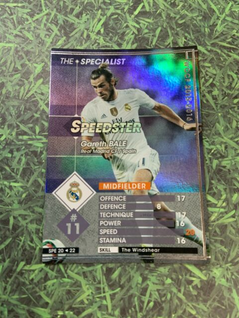 Panini WCCF SPE 15-16 Gareth Bale Wales Real Madrid England Spain Refractor card