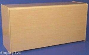 Bancone In Legno Per Negozio : Raffinato 1800mm acero effetto in legno bancone espositore per