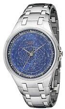 ACCURIST CELESTI Orologio Uomo Quadrante Blu con Cinturino GMT118UK RRP £ 350