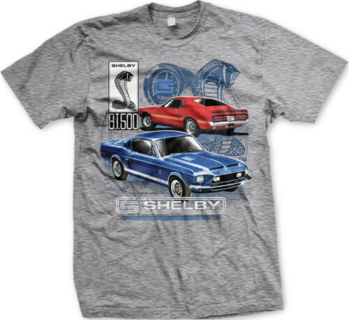 Shelby Mustang G.T.500 Ford Motor Company Cars Licensed Oversize-Men/'s T-shirt