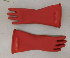 Ansell Rubber Linemans Glove 11 Long Class 0 Size 7 One Pair 114264