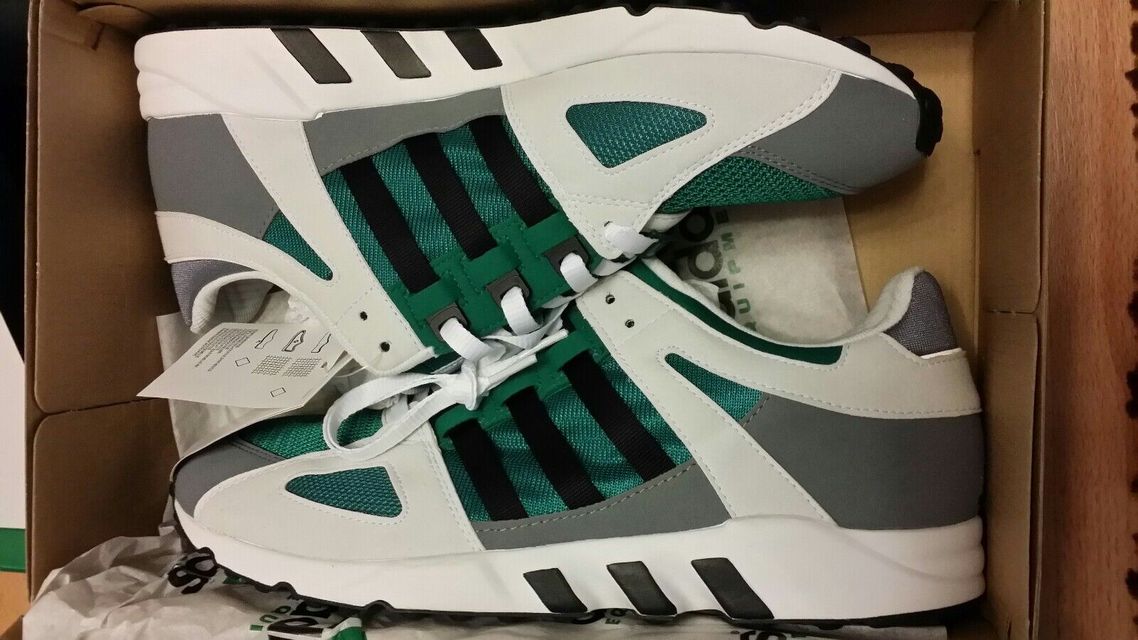 Adidas equipment EQT guidance verde EQT 13 48 nuevo soporte Cushion ZX